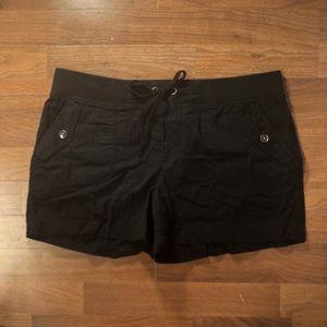 LOFT Black Soft Shorts